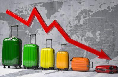 """2020 """"l'anno peggiore nella storia del turismo"""": una perdita complessiva di 1,3 miliardi di dollari"""